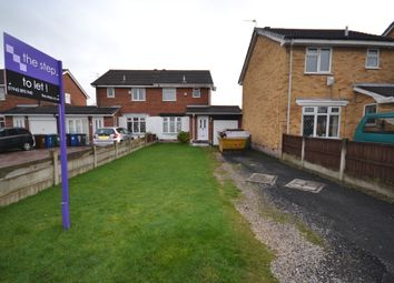 Thumbnail 3 bedroom semi-detached house to rent in Purbeck Way, Astley, Tyldesley, Manchester