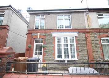 Thumbnail 3 bed semi-detached house for sale in Gwyddon Road, Abercarn, Newport