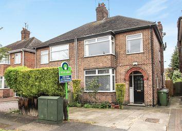 Thumbnail 3 bed semi-detached house for sale in Edwalton Avenue, West Town, Peterborough