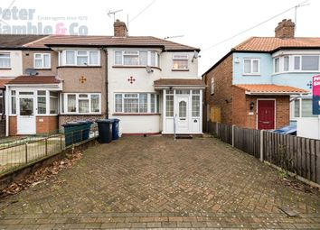 Thumbnail 3 bedroom end terrace house for sale in Woodhouse Avenue, Perivale, Greenford, Greater London