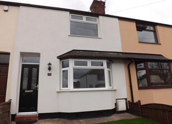 Thumbnail 2 bed terraced house for sale in West Avenue, Warrington, Cheshire