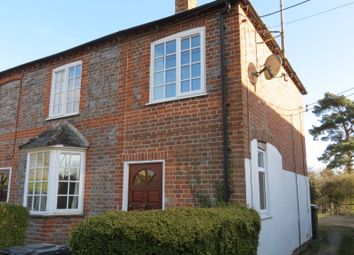 Thumbnail 2 bed semi-detached house to rent in Laburnum Cottages, Newbury