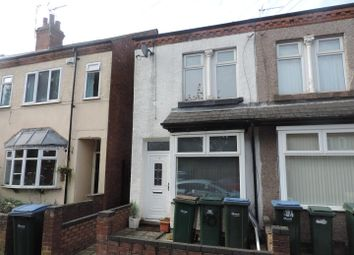 Thumbnail 3 bed property to rent in Osborne Road, Earlsdon, Coventry