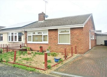 Thumbnail 2 bed semi-detached bungalow for sale in Wakelyn Road, Whittlesey, Peterborough