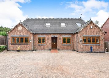 Thumbnail 5 bed detached house for sale in Burton Road, Woodville, Swadlincote