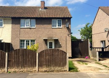 Thumbnail 3 bed semi-detached house to rent in Kingston Road, Carlton-In-Lindrick, Worksop, Nottinghamshire