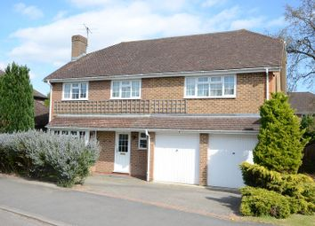 Thumbnail 5 bed detached house to rent in Waverley Way, Finchampstead, Wokingham