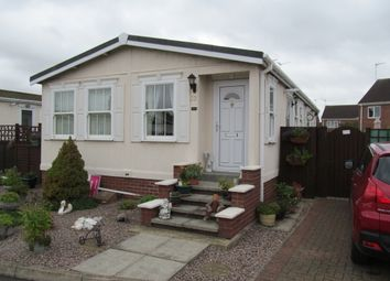 Thumbnail 2 bedroom mobile/park home for sale in Fenland Village, Osborne Road, Wisbech, Cambridgeshire