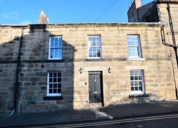Thumbnail 3 bedroom end terrace house for sale in Howick Street, Alnwick, Northumberland