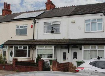 Thumbnail 3 bed terraced house for sale in Brereton Avenue, Grimsby, South Humberside