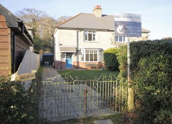 Thumbnail 2 bed semi-detached house for sale in Pound Lane, Burley, Ringwood