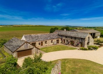 Thumbnail 6 bed barn conversion for sale in St. Columb