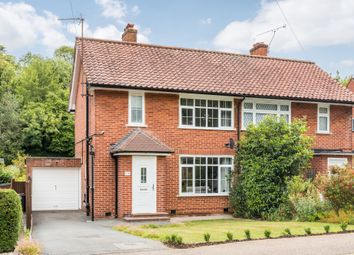 Thumbnail 3 bed semi-detached house for sale in Lower Barn Road, Purley