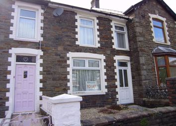 Thumbnail 2 bed terraced house to rent in Dunraven Place, Ogmore Vale, Bridgend