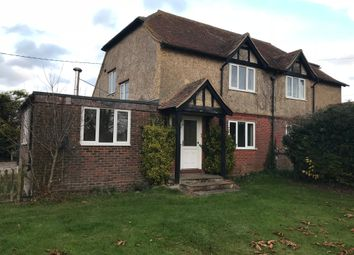 Thumbnail 3 bed semi-detached house to rent in Sutton Scotney, Winchester