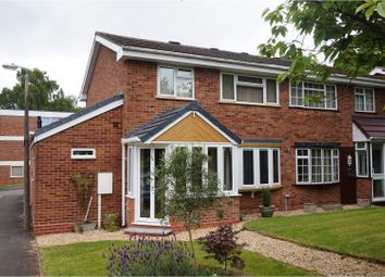 Thumbnail 3 bed semi-detached house for sale in Woodend Close, Redditch
