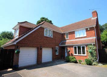 Thumbnail 4 bed detached house for sale in Cheylesmore Drive, Frimley, Camberley, Surrey