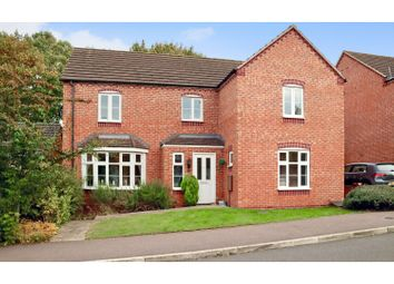 Thumbnail 4 bed detached house for sale in Darwin Crescent, Loughborough