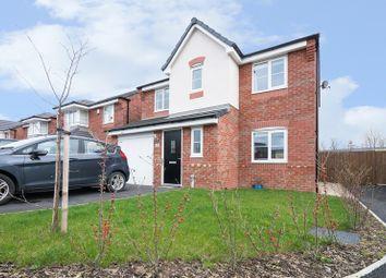 Thumbnail 4 bed detached house for sale in Messham Close, Broughton, Flintshire
