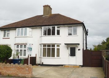 Thumbnail 3 bed semi-detached house for sale in Littlemore Road, Oxford