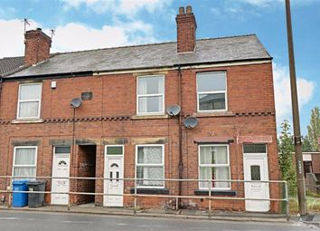 Thumbnail 2 bed terraced house to rent in Chesterfield Road, Staveley, Chesterfield, Derbyshire