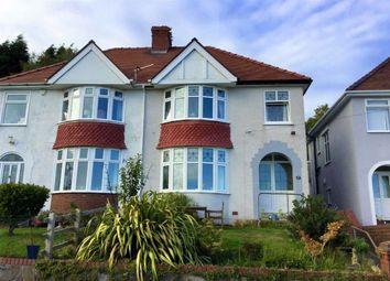 Thumbnail 3 bed semi-detached house for sale in Lon Bryngwyn, Swansea