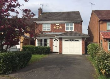 Thumbnail 4 bed detached house to rent in Pleasant Close, Leicester Forest East