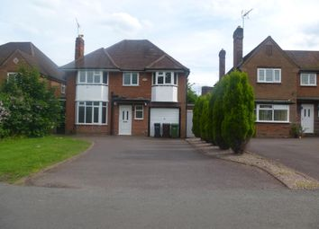 Thumbnail 4 bed property to rent in Gentleshaw Lane, Solihull