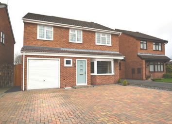 Thumbnail 4 bedroom detached house for sale in Country Meadows, Market Drayton
