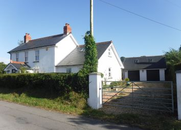 Thumbnail 4 bed detached house for sale in Marsh House, Marsh Road, Llanmorlais, Gower