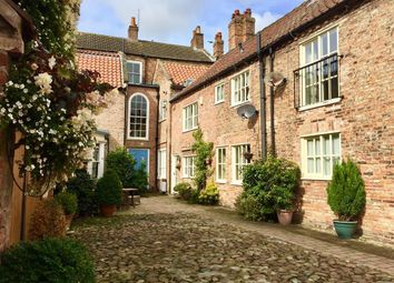 Thumbnail 3 bed terraced house to rent in Bannister Court, Back Lane, Easingwold