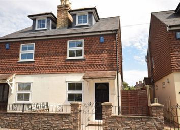 Thumbnail 3 bed semi-detached house for sale in 90 London Road, Dunton Green, Sevenoaks, Kent