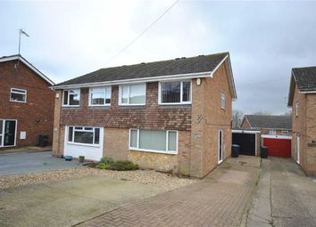 Thumbnail 3 bed semi-detached house for sale in Thruxton Drive, Northampton