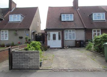 Thumbnail 2 bedroom end terrace house for sale in Valence Avenue, Becontree, Dagenham