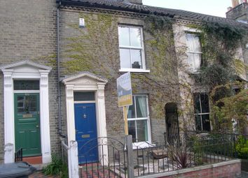 Thumbnail 3 bed terraced house to rent in Helena Road, Norwich