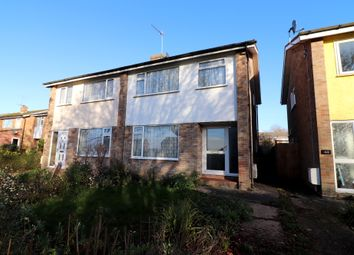 Thumbnail 3 bedroom semi-detached house for sale in Churchill Avenue, Hadleigh, Ipswich, Suffolk