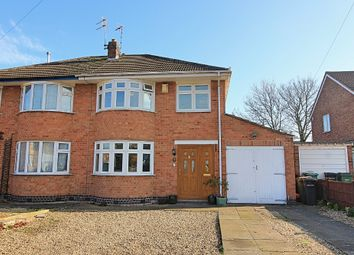 3 bed semi-detached house for sale in Dale Avenue, Wigston, Leicester LE18