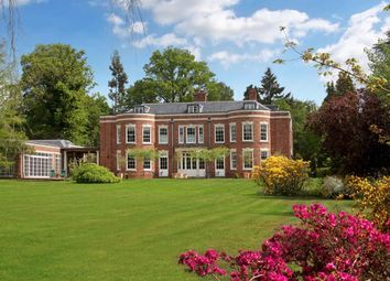 Thumbnail 6 bed detached house for sale in Spring Woods, Wentworth, Virginia Water, Surrey