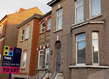 Thumbnail 3 bedroom flat to rent in Osborne Road, Broadstairs