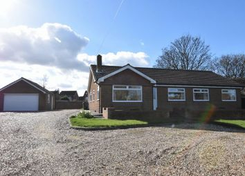 Thumbnail 4 bed detached bungalow for sale in Sea Dyke Way, Marshchapel, Grimsby