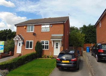 Thumbnail 2 bedroom semi-detached house to rent in Dunwoody Close, Mansfield