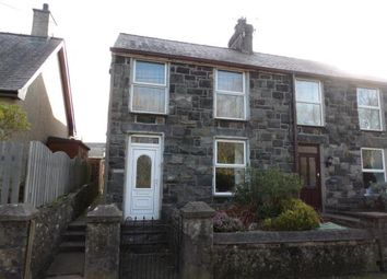 3 bed semi-detached house for sale in Groeslon, Caernarfon, Gwynedd LL54