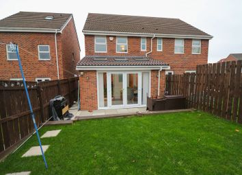 Thumbnail 3 bed semi-detached house for sale in Pickering Drive, Blaydon-On-Tyne