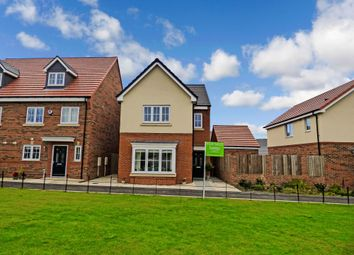 Thumbnail 4 bedroom detached house for sale in Hotspur North, Backworth, Newcastle Upon Tyne