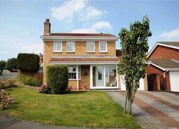 Thumbnail 4 bedroom detached house for sale in Fielding Court, Crook, County Durham