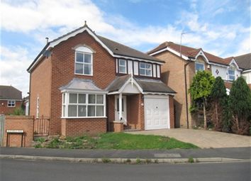 Thumbnail 4 bed detached house to rent in Heathfield Park, Middleton St. George, Darlington