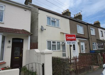 Thumbnail 2 bed end terrace house for sale in Shortlands Road, Sittingbourne