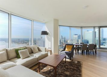Thumbnail 3 bedroom flat for sale in Charrington Tower, New Providence Wharf, London