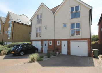 Thumbnail 3 bed semi-detached house for sale in Paxton Avenue, Hawkinge, Folkestone