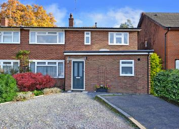 Thumbnail 4 bedroom end terrace house for sale in Longmead Road, Thames Ditton